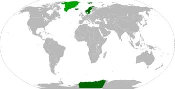 Locator Map of Skandinavia